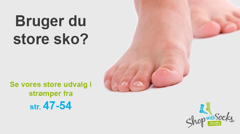 Store fødder?