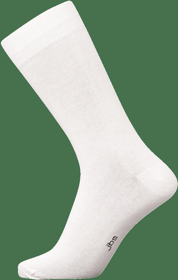 Hvide jbs strømper - str. 40-47 fra jbs på shopwithsocks