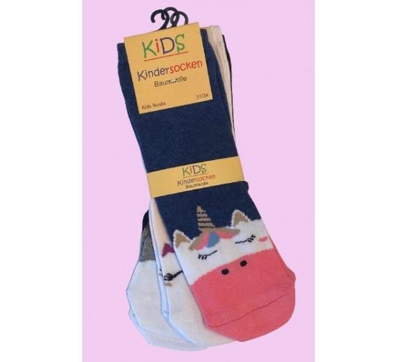 Unicorn sokker til børn