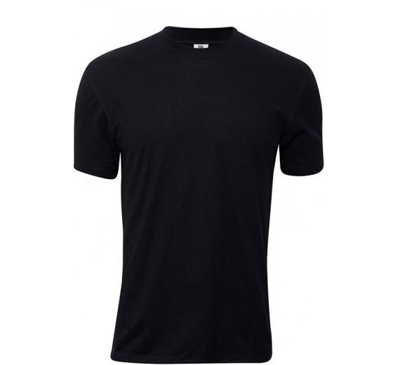 Sort Dovre T-Shirt Med Rund Hals