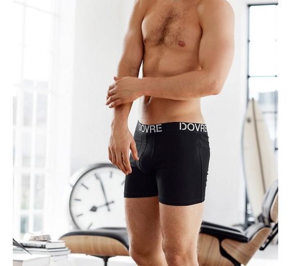 3-Pak Dovre Basic Tights / Boxershorts Sort-01