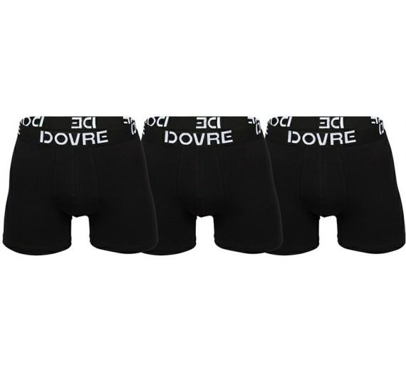 3-Pak Dovre Basic Tights / Boxershorts Sort