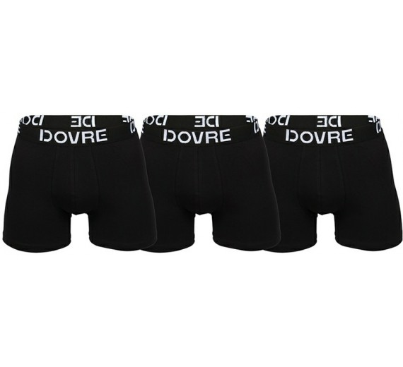 3-Pak Dovre Basic Tights / Boxershorts Sort