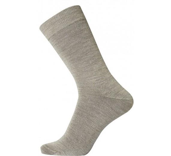 Egtved Twin Socks Uldsokker, Mørk Sand