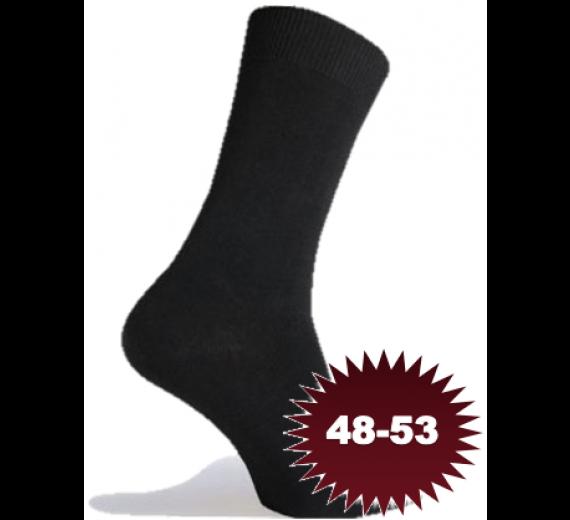 Sorte Sokker Bomuld - Str. 48-53