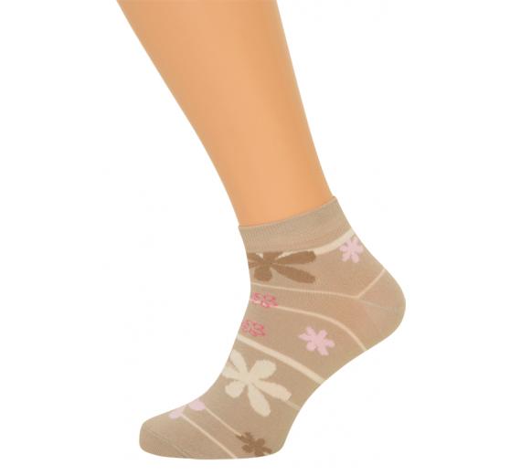 Stribede Ankelsokker (Korte Sokker)