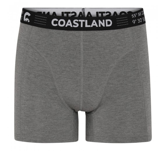 Grå Coastland uld-boxershorts