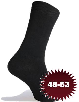 Sorte sokker strømper størrelse 48-53