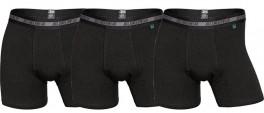 3-Pak JBS Bambus Tights / Boxershorts, Sort - Str. Medium