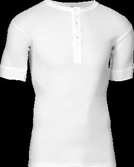JBS Original T-Shirt Med Knapper, Hvid str. 3X-Large