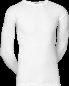 JBS Original Langærmet T-Shirt Med O-Hals Hvid
