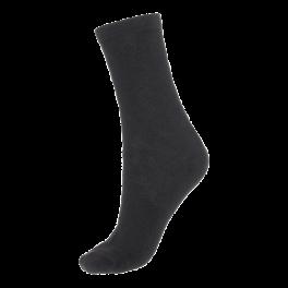 Socks CPH- Damestrømpe. Zig-Zag strukturstrik-Sort