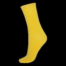 Socks CPH- Damestrømpe. Bambus- Gul
