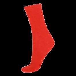 Socks CPH- Damestrømpe. Bambus- Rød