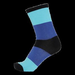 CSC- Herrestrømper med brede striber, Blå