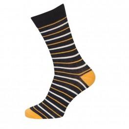 3-pak Socks CPH Sokker Med Orange Striber 40-47