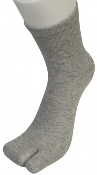 Two Toe Socks Tåsokker Grå