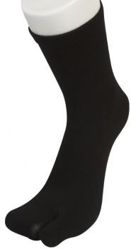"""Sorte Two Socks - """"Lomme"""" til storetå"""