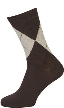 Brune Strømper Med tern - Str. 47-50