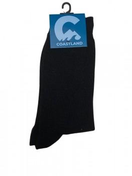 Coastland Uld / bambussokker, Sort - Str. 47-50