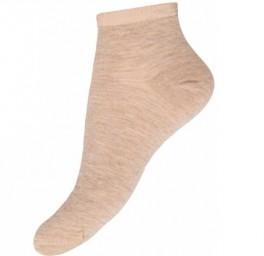 Decoy Lady Sneaker Socks, Sandfarvet