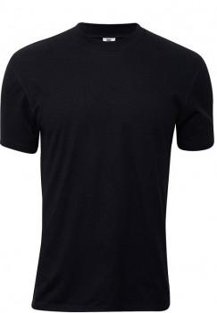 Sort Dovre T-Shirt Med Rund Hals - Str. 5XL