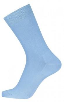 Blå Egtved Bomuld Sokker Med Ventilationssål 40-45