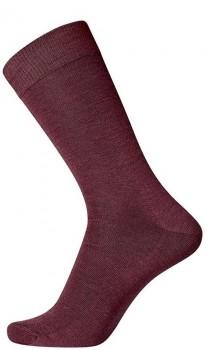 Mørkerøde Egtved Twin Socks Uldsokker