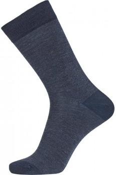 Navy Blå Egtved Twin Sock Uldsokker