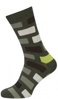 Grønne Sokker med Terner