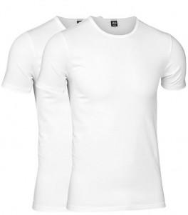 Hvide JBS T-Shirts 2-Pak GOTS - Str. Large