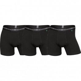 3-Pak JBS Bambus Tights / Boxershorts, Sort - Str. Small
