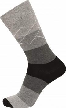 JBS sokker med grå striber