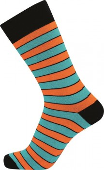 JBS sokker med striber