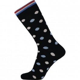 Navyblå JBS sokker med prikker