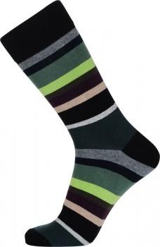 JBS sokker med grønne striber