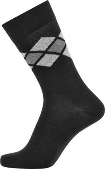 Sorte JBS sokker med tern