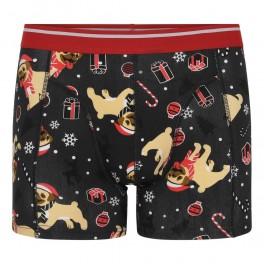 Jule-boxershorts Hundehvalp