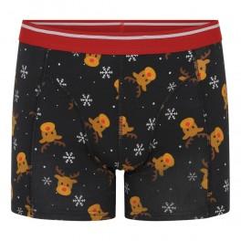 Boxershorts med julemotiv, Rudolf - Small