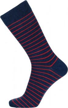 Blå JBS strømper med striber - Str. 40-47