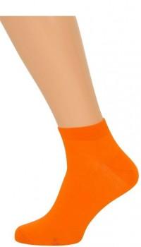 Orange Ankelstrømper(korte strømper)