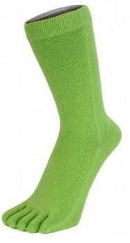 Grønne ToeToe Essential Mid-Calf Tåsokker