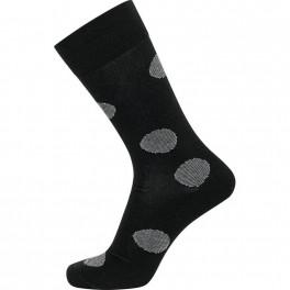 Sorte JBS sokker med prikker