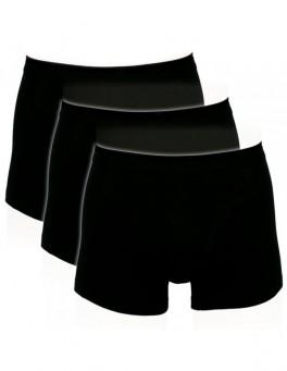 Boxershorts - Sorte Trunks Str. Large