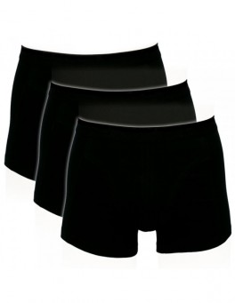 Boxershorts - Sorte Trunks Str. Large