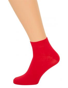 Røde Ankelstrømper(korte strømper)