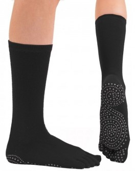 ToeToe Yoga & Pilates Mid-Calf Anti-Slip Sokker