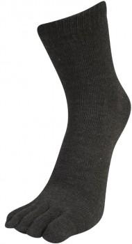 Billige Tåstrømper Mørkegrå - Str- 35-46