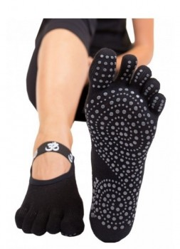ToeToe Yoga & Pilates Foot Cover Anti-Slip Sort