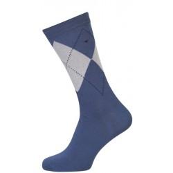 Blå Sokker Med Terner